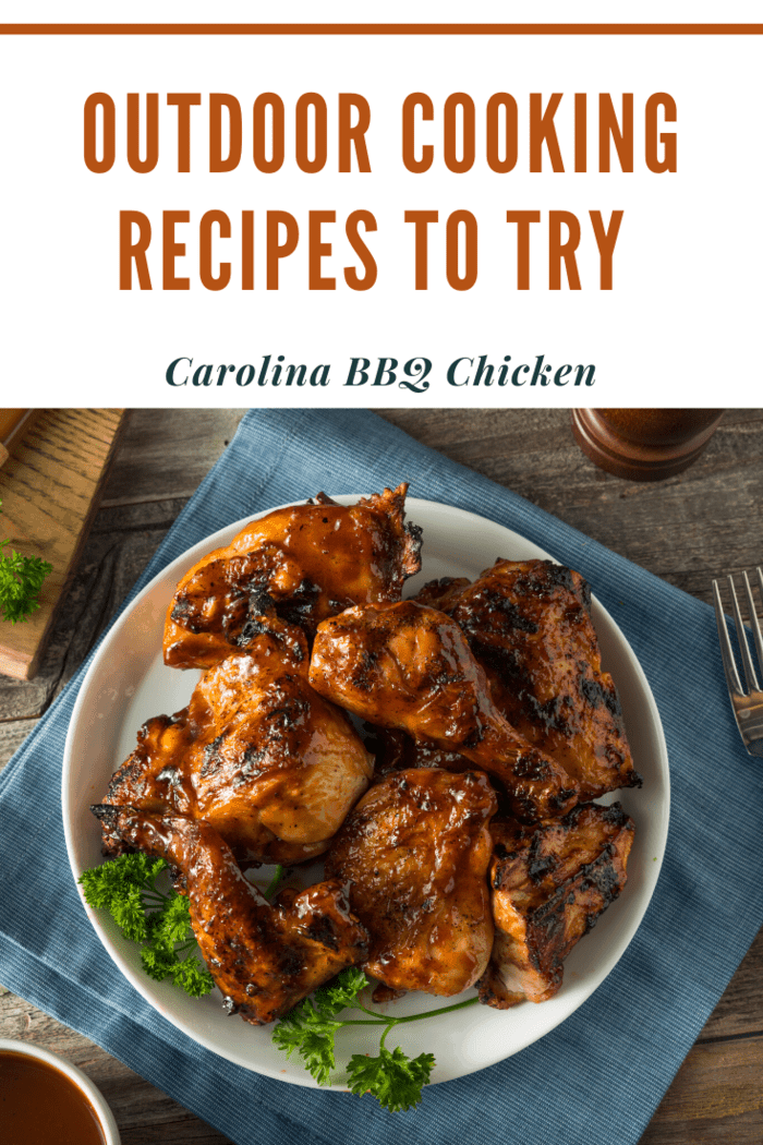 There are few foods that can be enjoyed in the outdoors as much as barbecue chicken. This is a staple recipe that every outdoor cook should have in their arsenal.