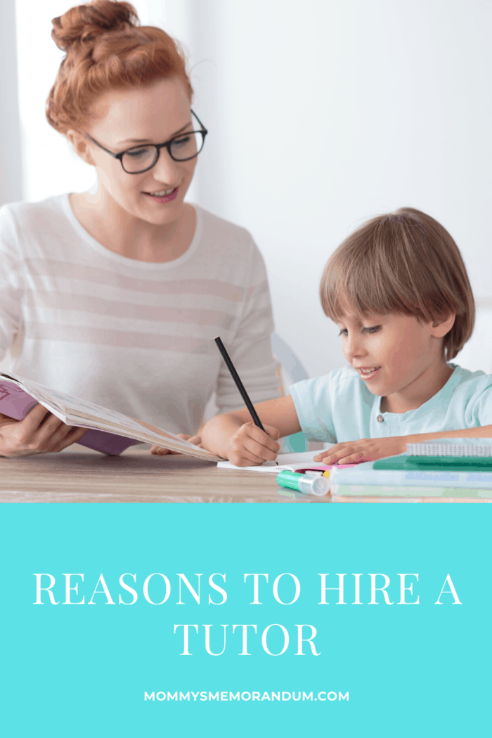 There are a couple of reasons why you should get a tutor for your kid and we've highlighted some of them here.
