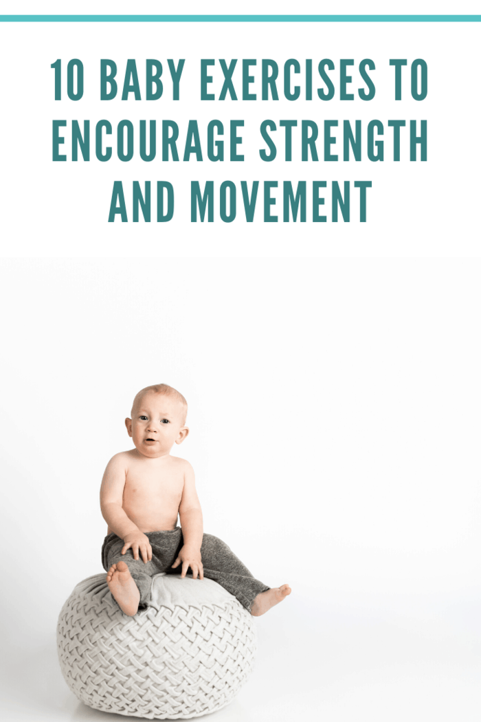 Without balance, we wouldn't be able to walk correctly. To help infants begin to master the necessary muscle strength associated with balance, have them practice sitting on a stool.