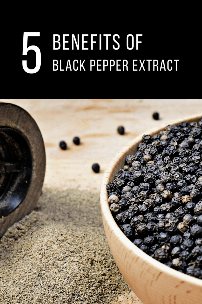 We're going to talk a bit about black pepper extract in this article, giving you some insight into what it does and how you can use it to improve your health.