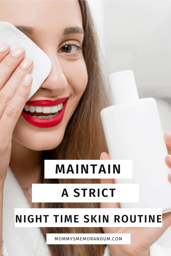 Skincare routine is not only restricted to washing your face in the morning or once after you come back home from work. You must also follow a routine before you go to bed so that your skin gets ample room to breathe.