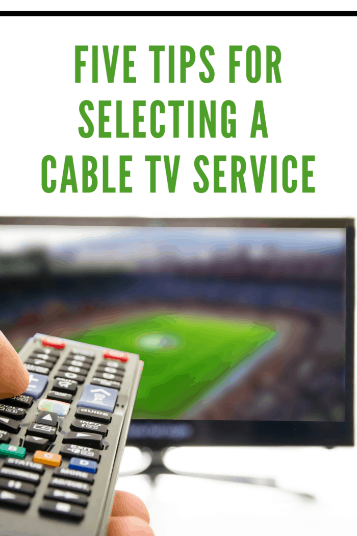 "Take a little time to sit down and make a list of the TV programs and TV channels that are absolute ""musts"" for you, like do you want to watch sports, or is your favorite show on a premium channel?"