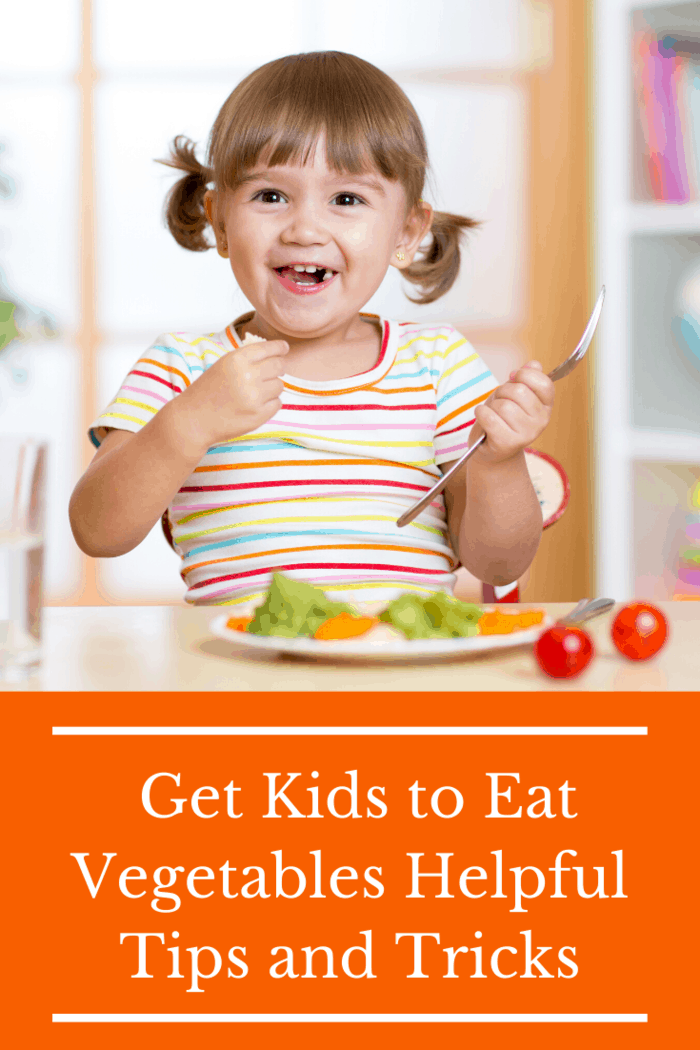 If your child always refuses to eat vegetables, you can't be too ambitious. Asking them to eat a plate that's half protein, half greens is probably asking for way too much.