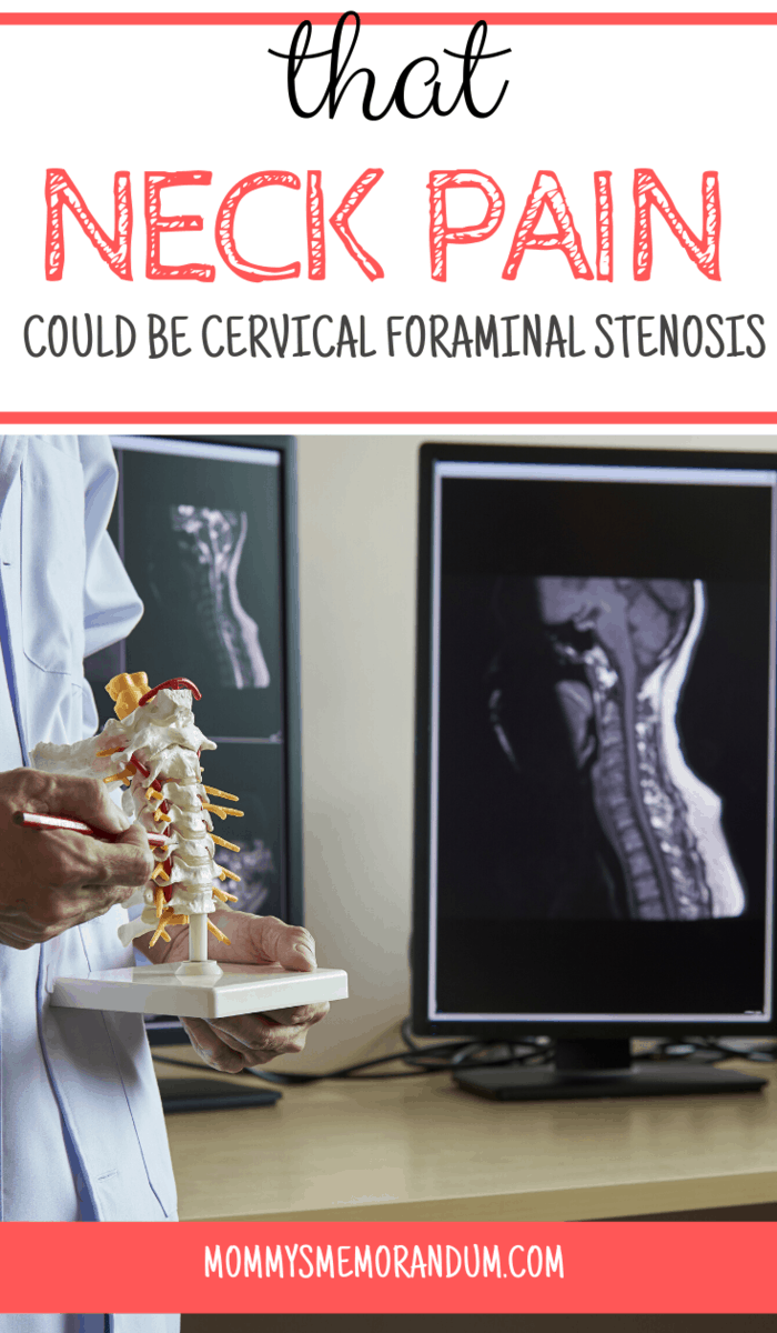 In some cases, chronic pain can be a symptom of cervical foraminal stenosis. This issue results from changes in the neck joint as a result of overuse and aging.