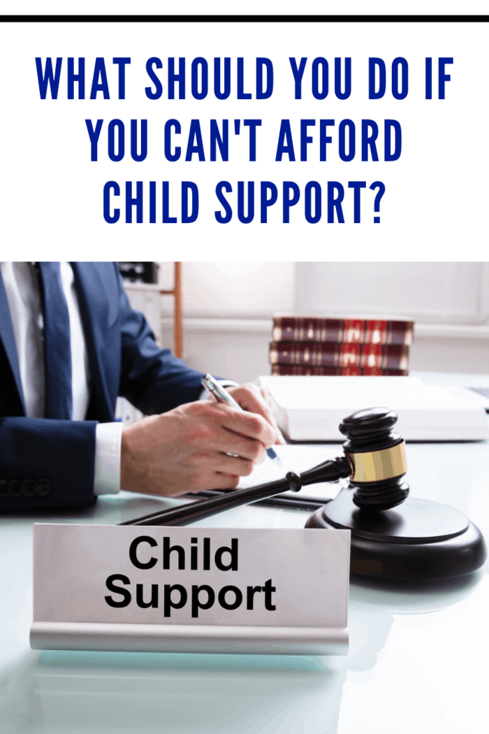 When you can't afford child support, it's tempting to skip the payment.