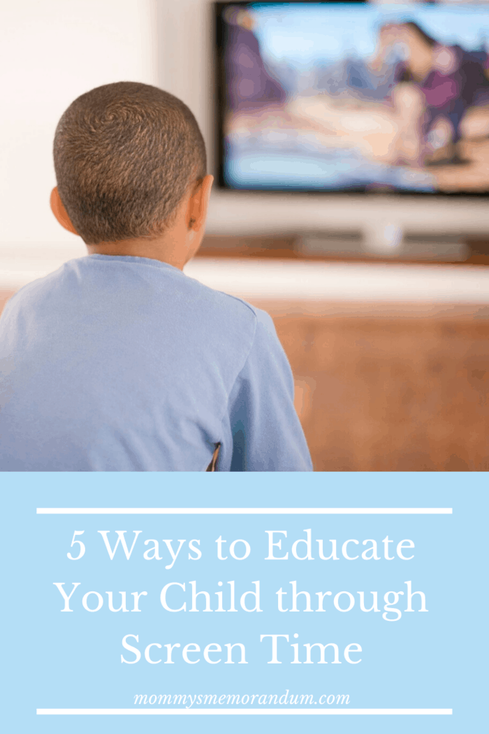Today we look at 5 ways how any parent can use screen time to educate their child and turn that negative screen time into something productive: