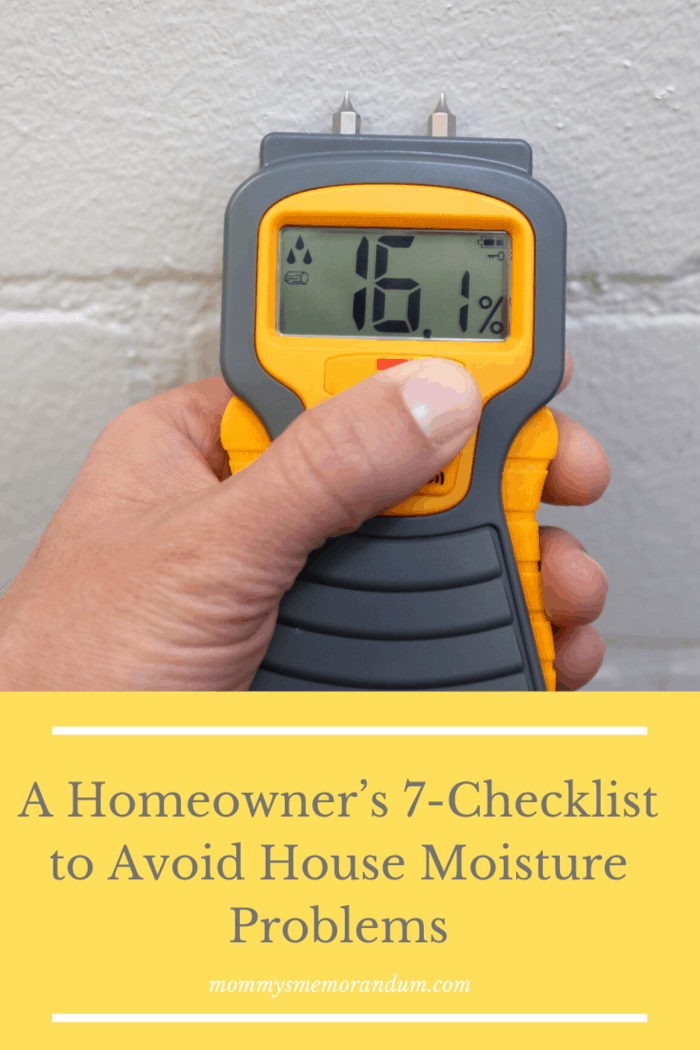 Homeowners also can affect the moisture levels within the households. There are steps that one can do in a day-to-day home operation to minimize the risk of moisture problems. Check out the list below to know how to avoid such issues inside the house.