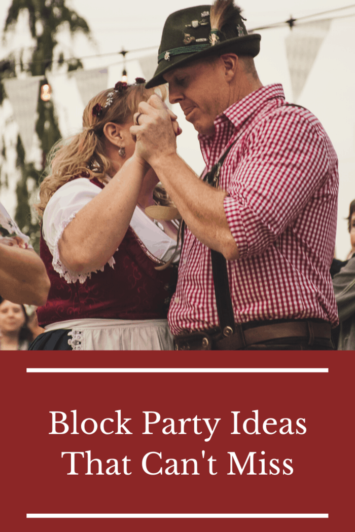 As long as you also provide some kid-friendly drinks and activities, there's no reason you can't throw an Oktoberfest or beer tasting themed block party, kids included!