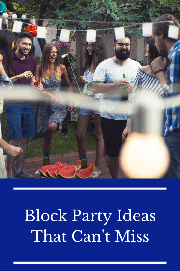 If you're looking for some block party ideas to plan the best neighborhood gettogether possible, you've come to the right place!