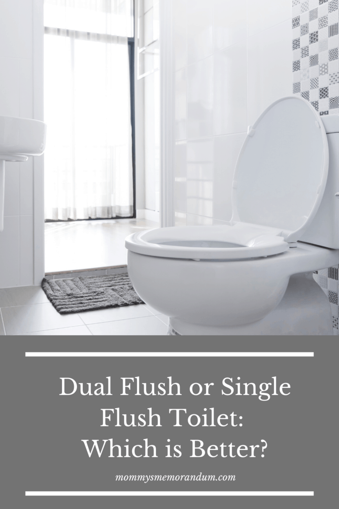 Dual flush toilets are a more recent addition to the market.