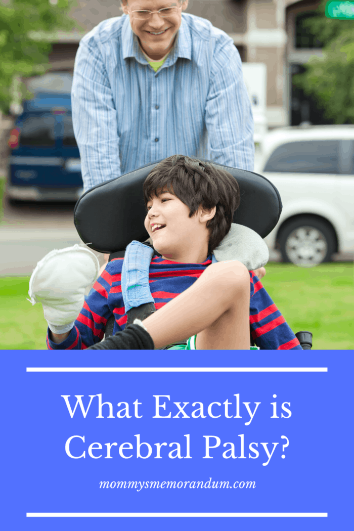 Cerebral Palsy, or CP, is an incurable disorder that affects movement, motor skills, and muscle tone.