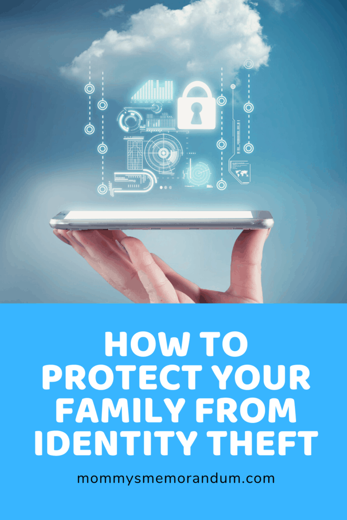Thus, it is imperative to do the necessary measures to protect you and your family from identity theft.