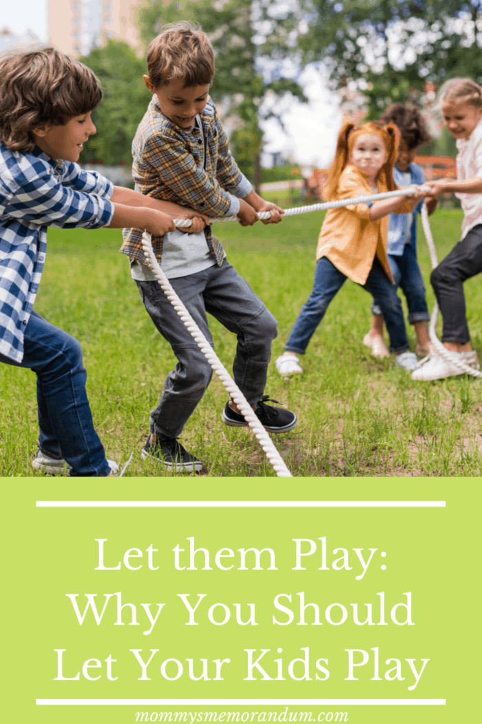 If your childhood wasn't complete without play, why should the kids today miss out on it?  Find out more about the benefits of children's play.