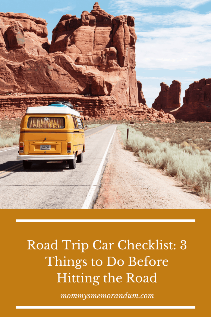 whether you're taking a road trip across the state or across the country, there are some things you need to do ahead of time to prepare for your journey