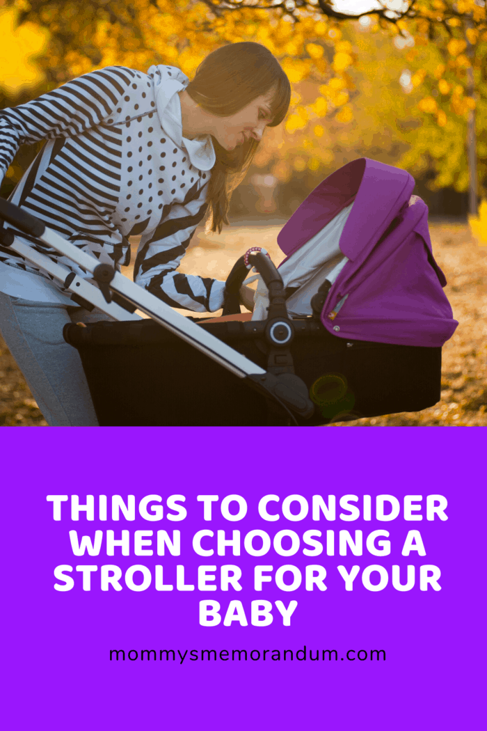 Companies have managed to design different kinds of strollers that will suit all needs.