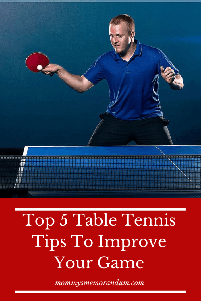 If you want to hone your skills in ping pong, you have to dedicate regular time to practice.
