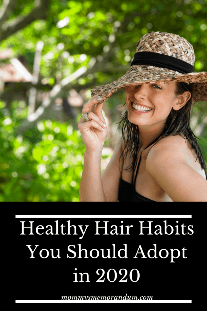 UV rays cause skin damage and harm the scalp protect your hair is a healthy hair habit