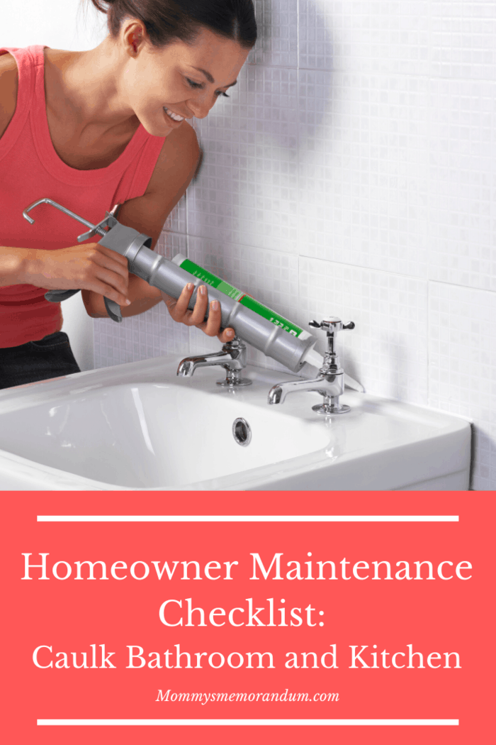 Apply a new layer of sealant in your bathroom and kitchen tiles to prevent them from looking stained and discolored.