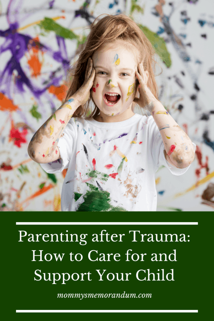 Trauma is devastating but helps mature a child.