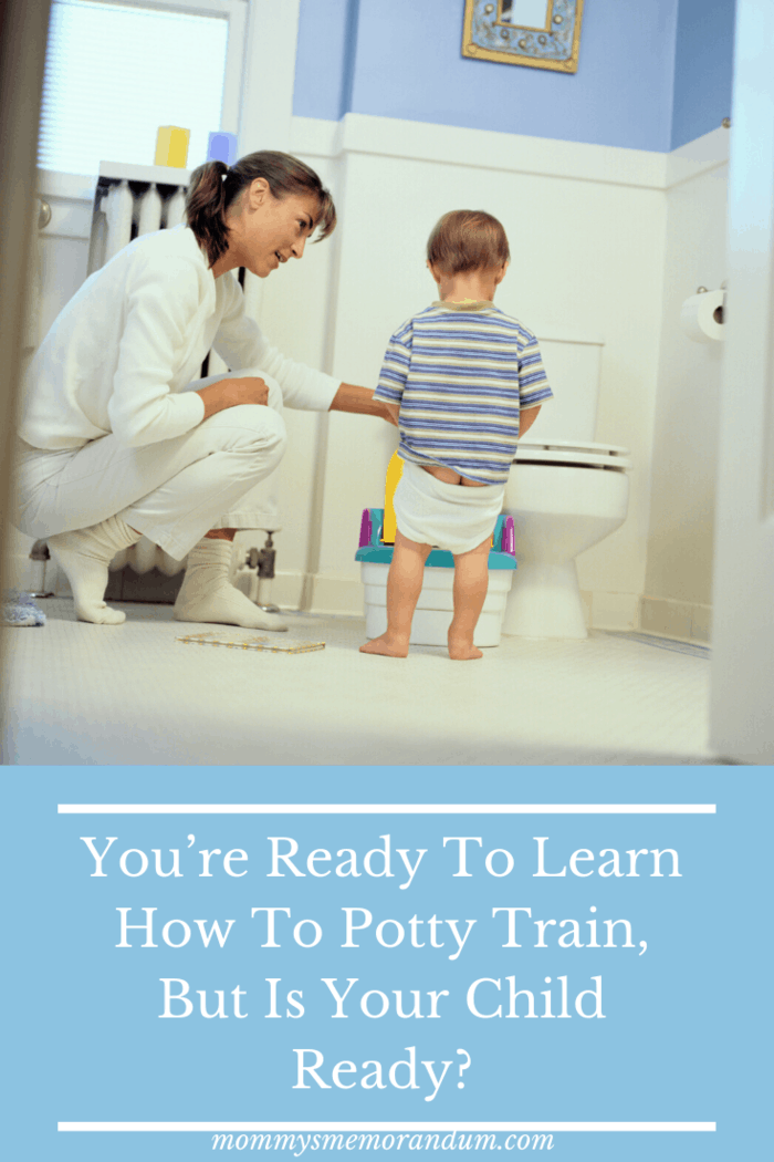 According toIntermountain Healthcare, there is an age range when children should start potty training (18 months to three and a half years) but where your child falls in that age range depends on where they are in their development.