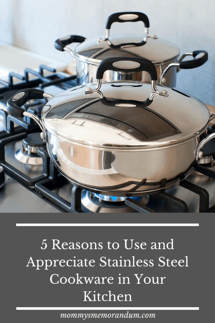 Stainless steel cookware retains food nutrition without additional help.