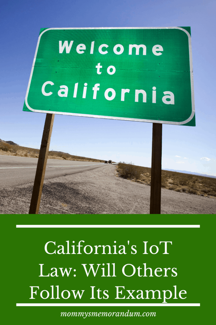However, there are many issues that need to be resolved with the loT law, so it will be very interesting to see whether California sets the standard, or whether another state or country will take the guiding point. #lotlaw #californialaw