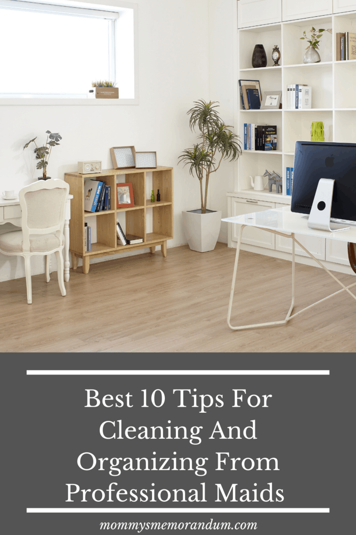 This problem can be solved by following the cleaning tips says Heba Noureldine, a cleaning expert with professional maids company in Dubai.
