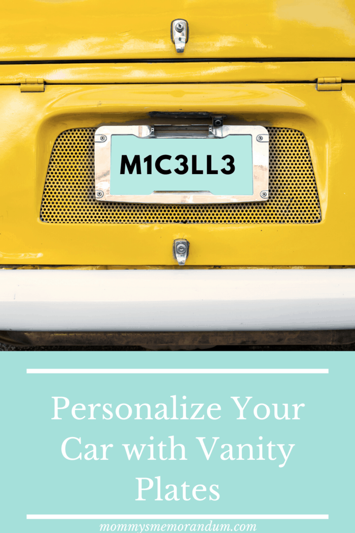 A customized number plate is a plate that can be customized with different numbers and letters.