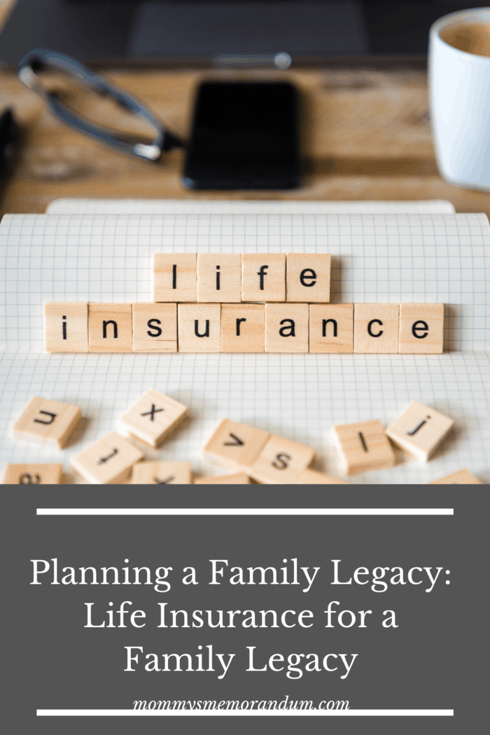 life insurance spelled out with scrabble letter tiles.