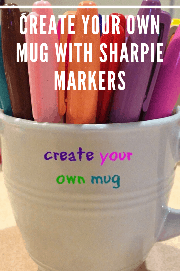 Instead of going to purchase mugs from a store, allow your children to use their creativity to design custom mugs.