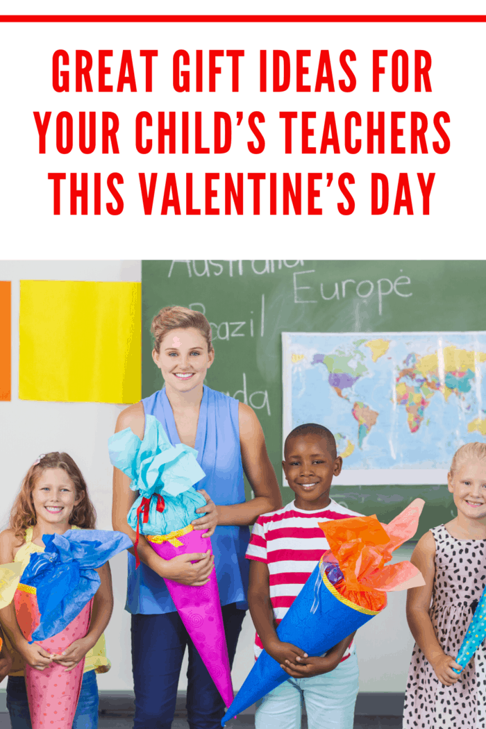 Valentine's day is a time for everyone to show a little love and appreciation. Here are great gift ideas for your child's teachers this Valentine's Day.