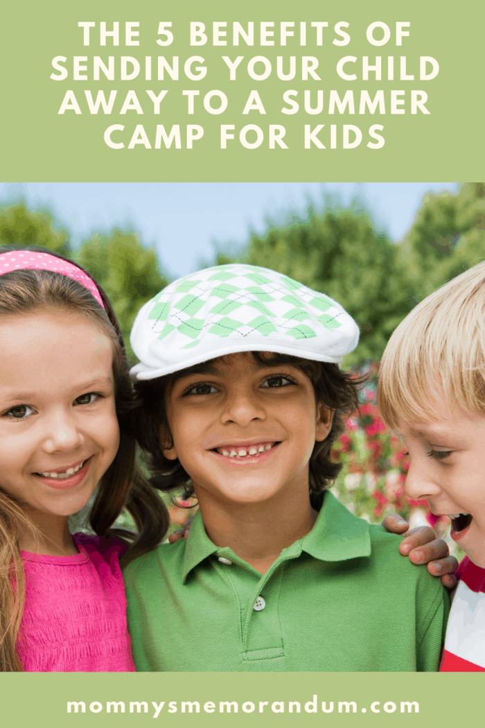 Have you considered sending them to a summer camp for kids?