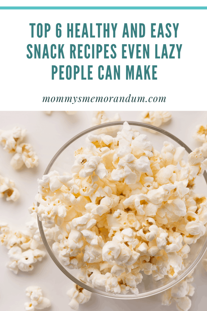 But, it doesn't have to be as unhealthy as the popcorn at theaters it can be an easy snack recipe.