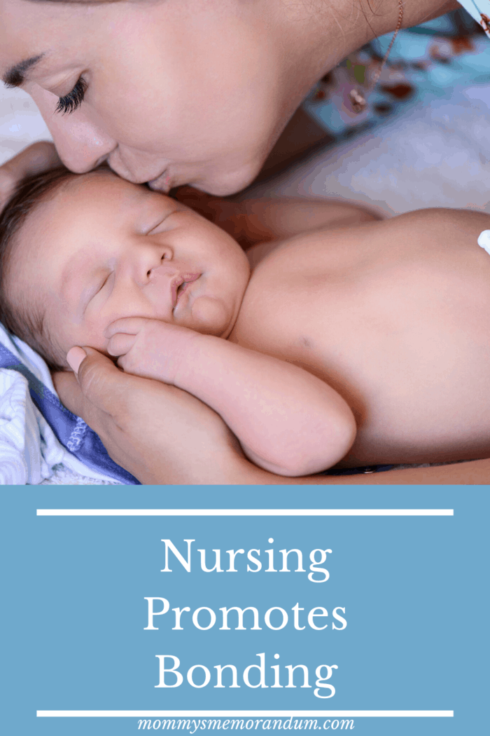 The skin-to-skin contact and physical intimacy required when breastfeeding creates a feeling of security and belonging between mother and child.