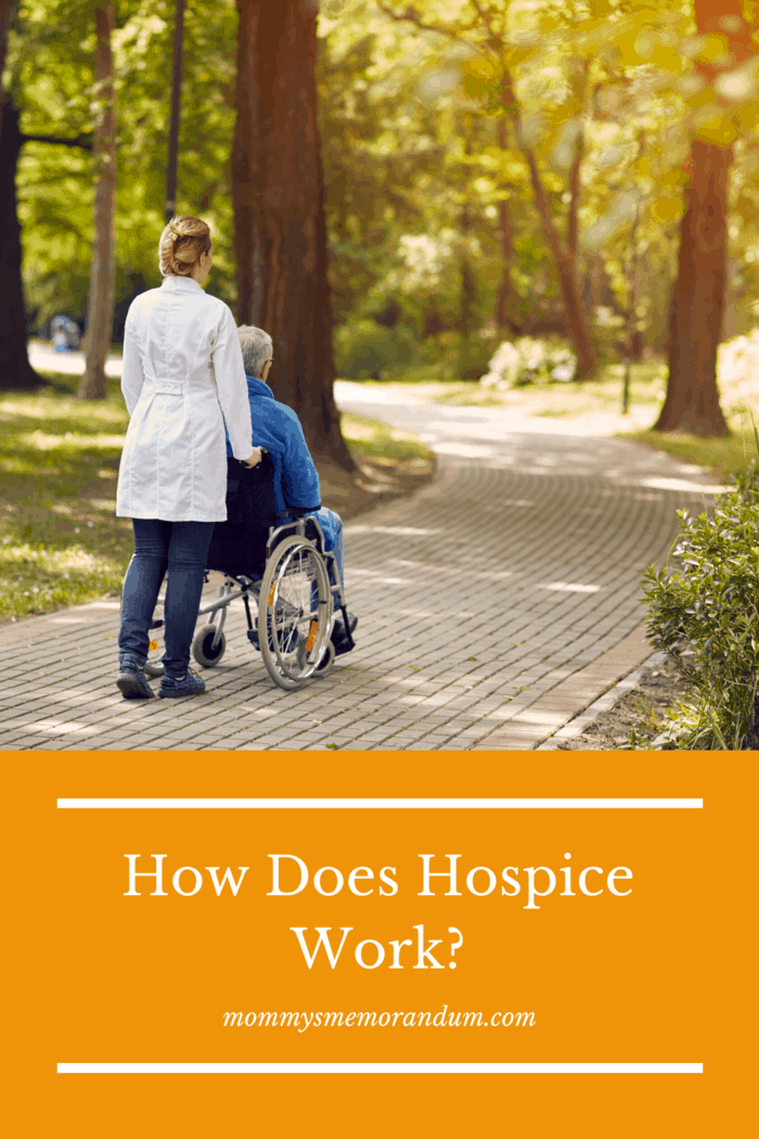 Once the decision is made to discontinue treatment and enter into hospice care a team is put together formulate a plan.