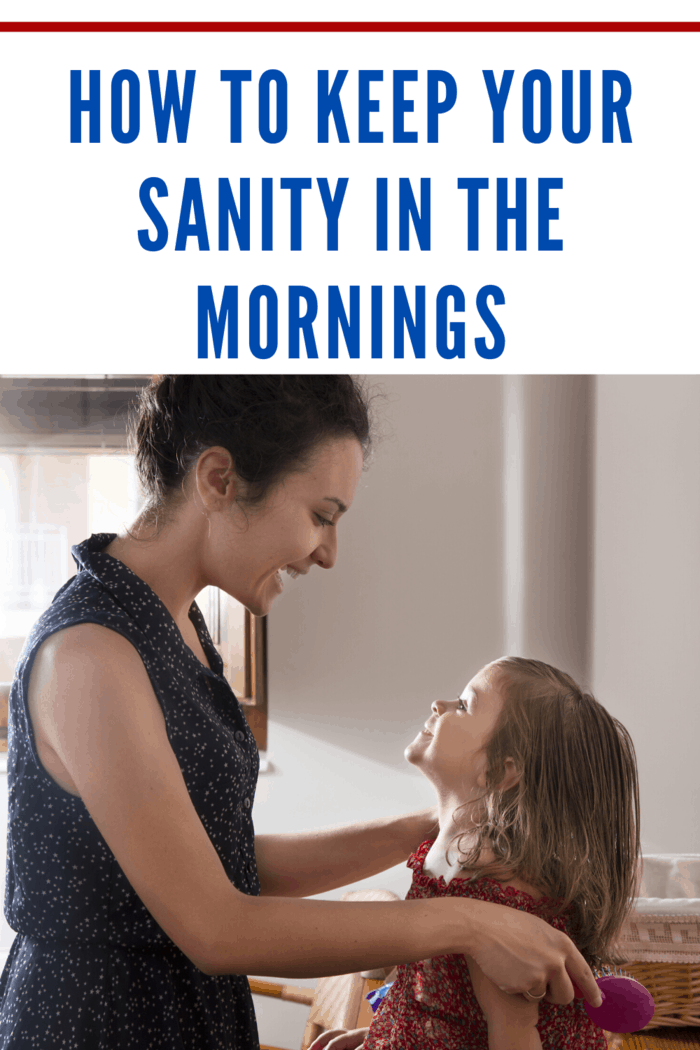 If you want to set yourself up for a stress-free and productive day ahead, here are a few tips to keep your sanity while taking care of your family's needs in the mornings. #stressfreemornings #keepyoursanity #momtips101 #momtips #backtoschool