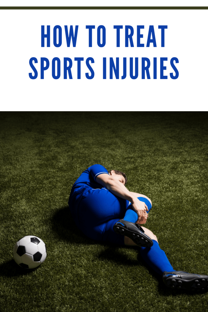 How to treat sports Types of Light Injuries, Wounds, or Pains