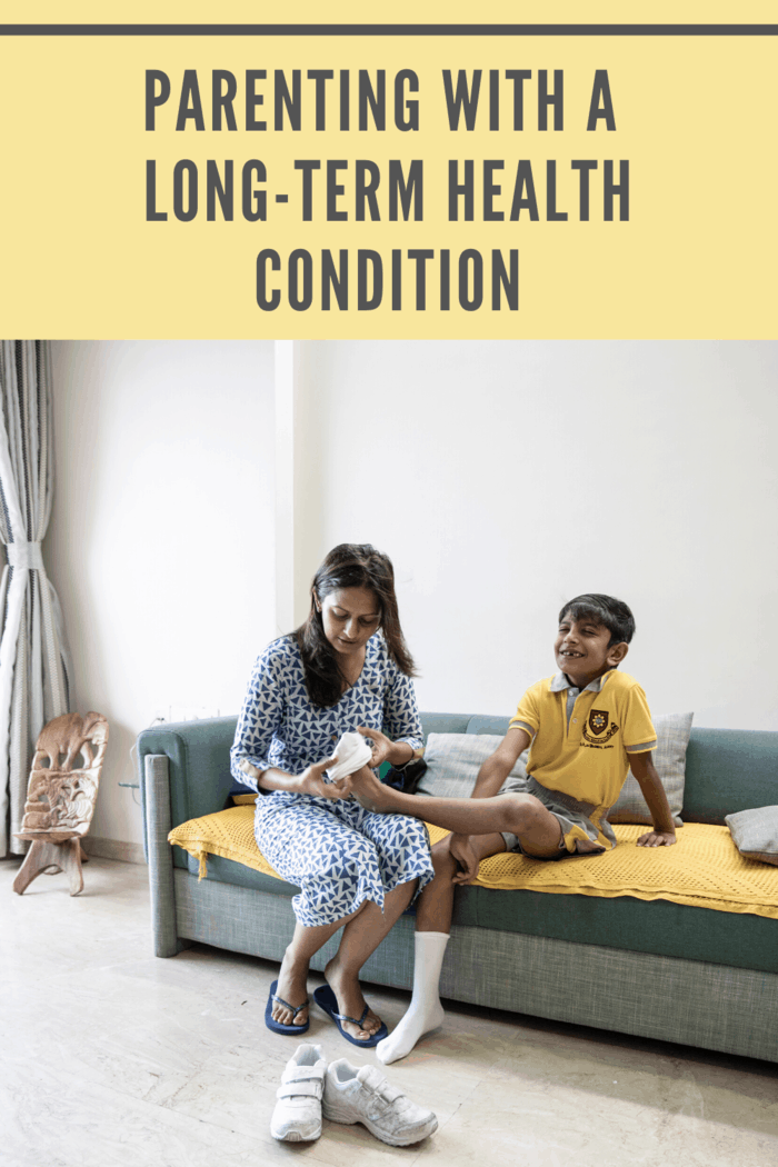 Being diagnosed with a chronic health condition can be devastating we share tips for managing a long-term health condition while parenting and enjoying life!