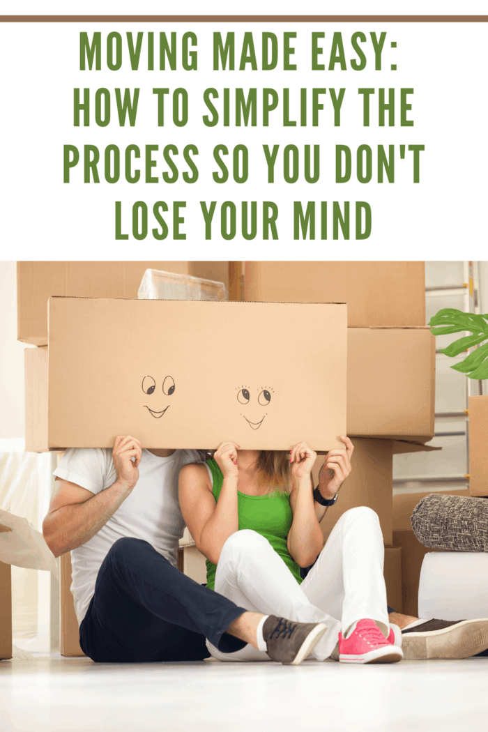 For simple moving, pack a box with all the things you don't want to be without on your first night in your new home.