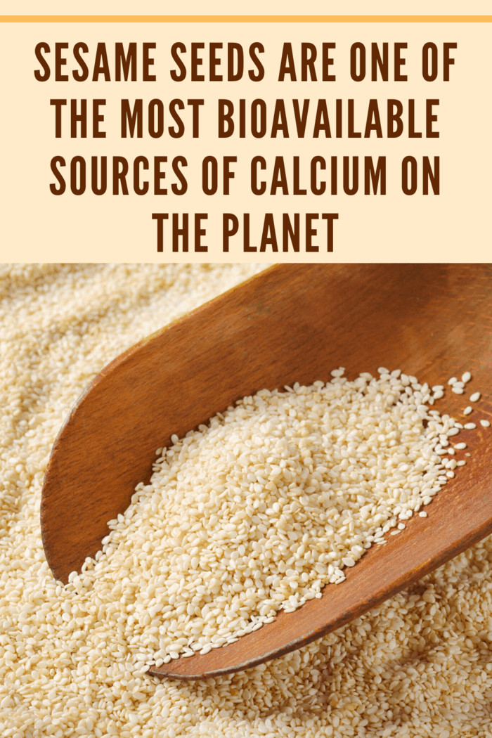 It's always best to get your calcium from food as opposed to supplements, and nuts and seeds can be an excellent source.