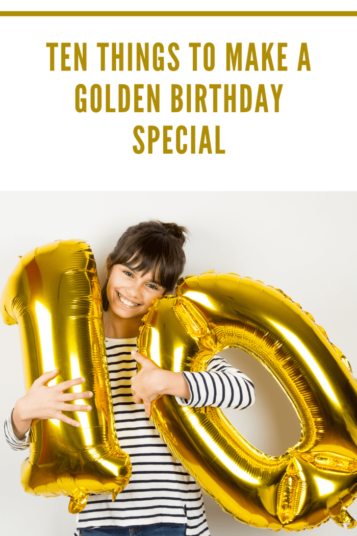When designing a golden birthday party, it makes sense that the theme should be golden glitz and glam.