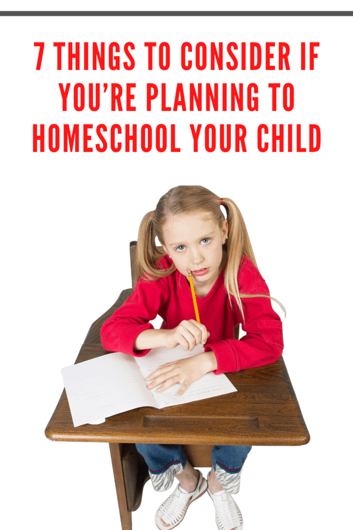 Before deciding to homeschool your kids, talk to them about it.