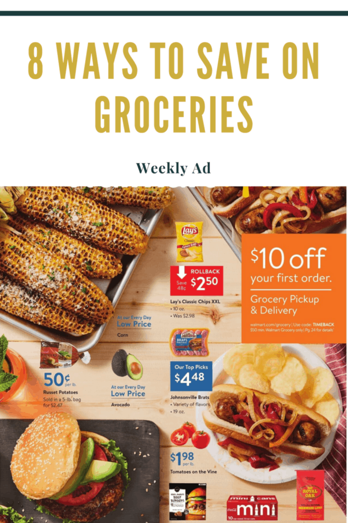 Websites collect grocery deals from top retailers in your area.