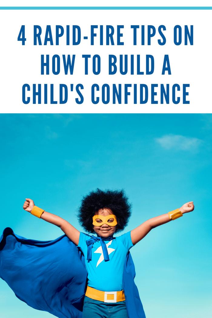 Build a child's confidence