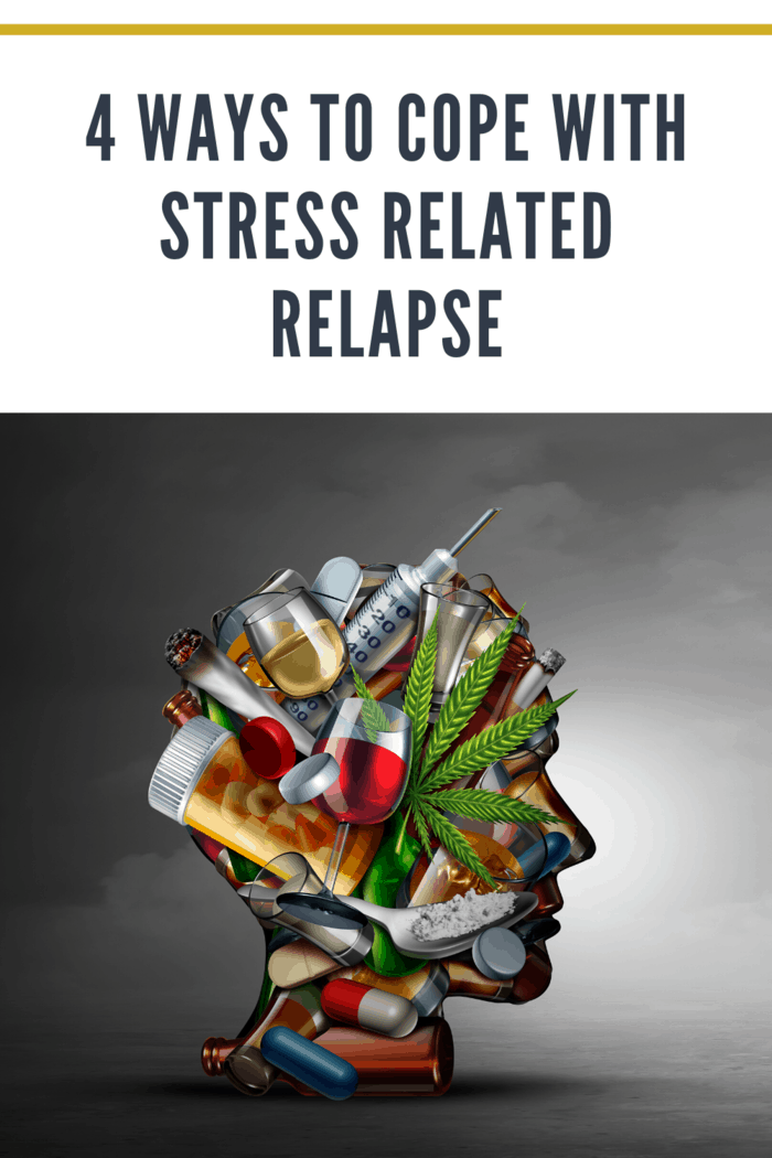 If you are concerned that increasing levels of stress may cause or you have already experienced a relapse, these four techniques can help you cope