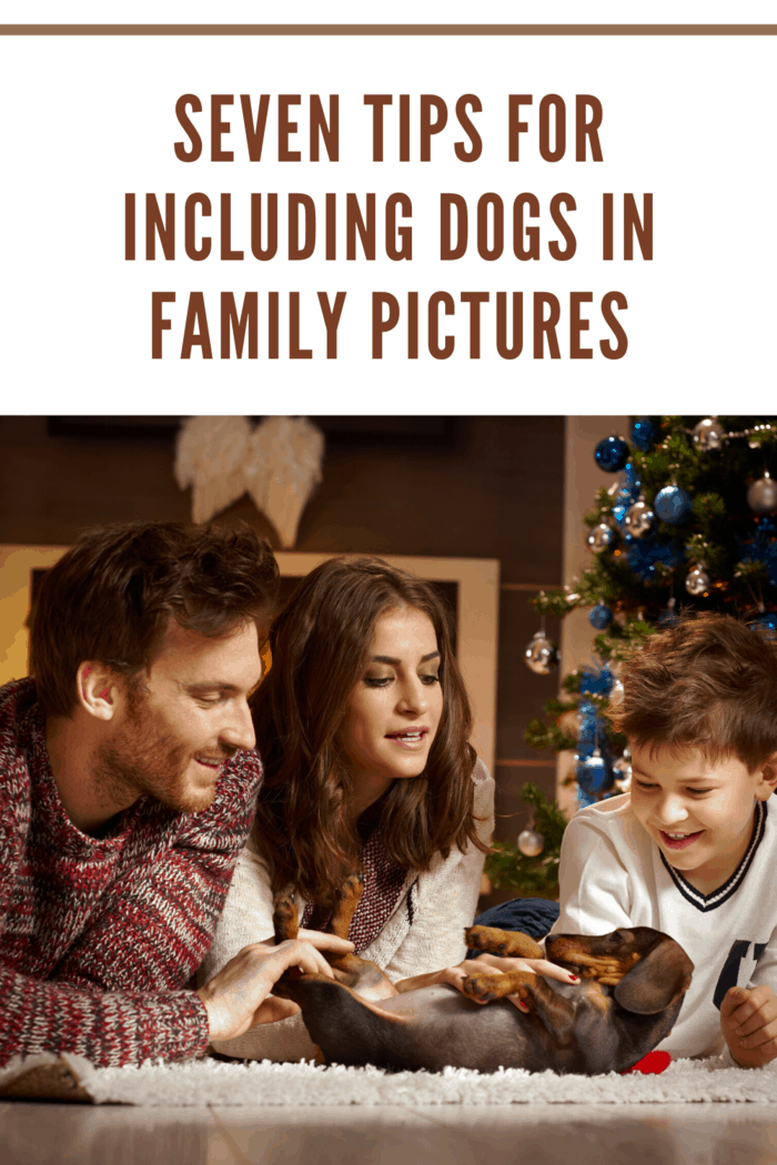 Practicing your poses and taking a few snapshots with your phone can help you and your pet get prepared for the big day.