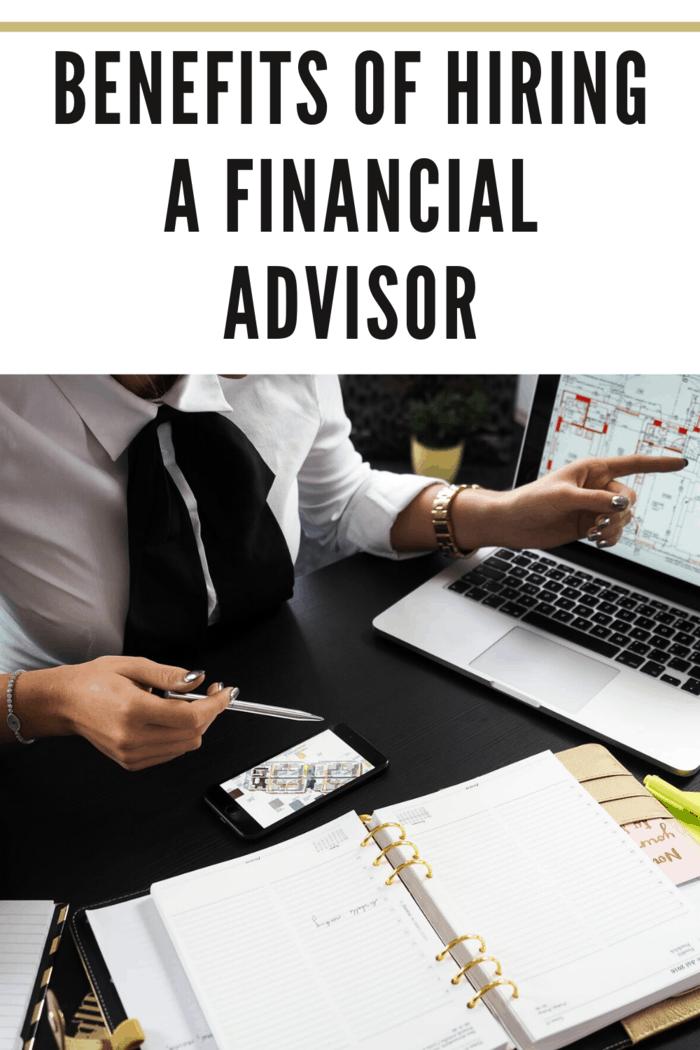 Hiring a financial advisor