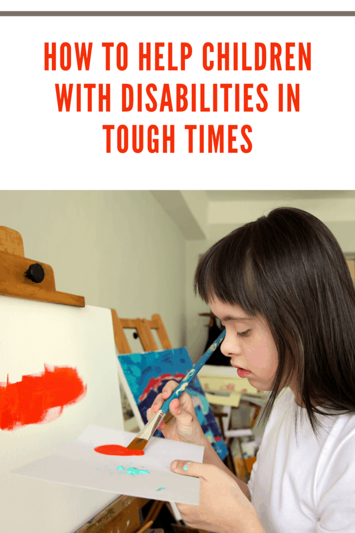 You want them to be happy and hate seeing them struggle with their particular disability.