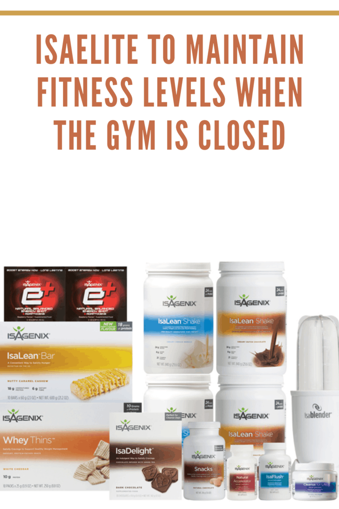 isaelite products to maintain fitness when the gym is closed