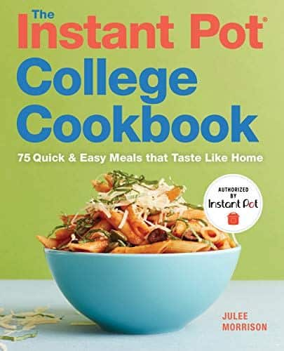 The Instant Pot® College Cookbookis the definitive dorm room solution for easy, homemade meals. Cereal and pizza might be enough to sustain a crash study session, but the best brain food is a homemade meal.The Instant Pot® College Cookbooksaves college students from four years of nutrient deprivation with quick and easy, budget-friendly meals. From grab-n-go Breakfast Burritos to late night Macaroni and Cheese, this college cookbook contains 75 tasty meals that require no previous cooking or Instant Pot® experience to whip up. Using easy-to-find and affordable ingredients,The Instant Pot® College Cookbooksaves students time and money too with good fast food that rivals any take-out menu. The Instant Pot® College Cookbookincludes: Instant Pot® cooking 101that explains pressure cooker settings for every type of food, tips, and FAQ. 75 home-style mealsthat include breakfast, everyday staples, soups and stews, meatless meals, poultry, pork and beef, dessert, and more! Fool-proof recipesthat combine quick prep times with easy-to-find and affordable ingredients to suit student schedules and wallets. Save ramen for emergencies with quick and easy recipes fromThe Instant Pot® College Cookbook.